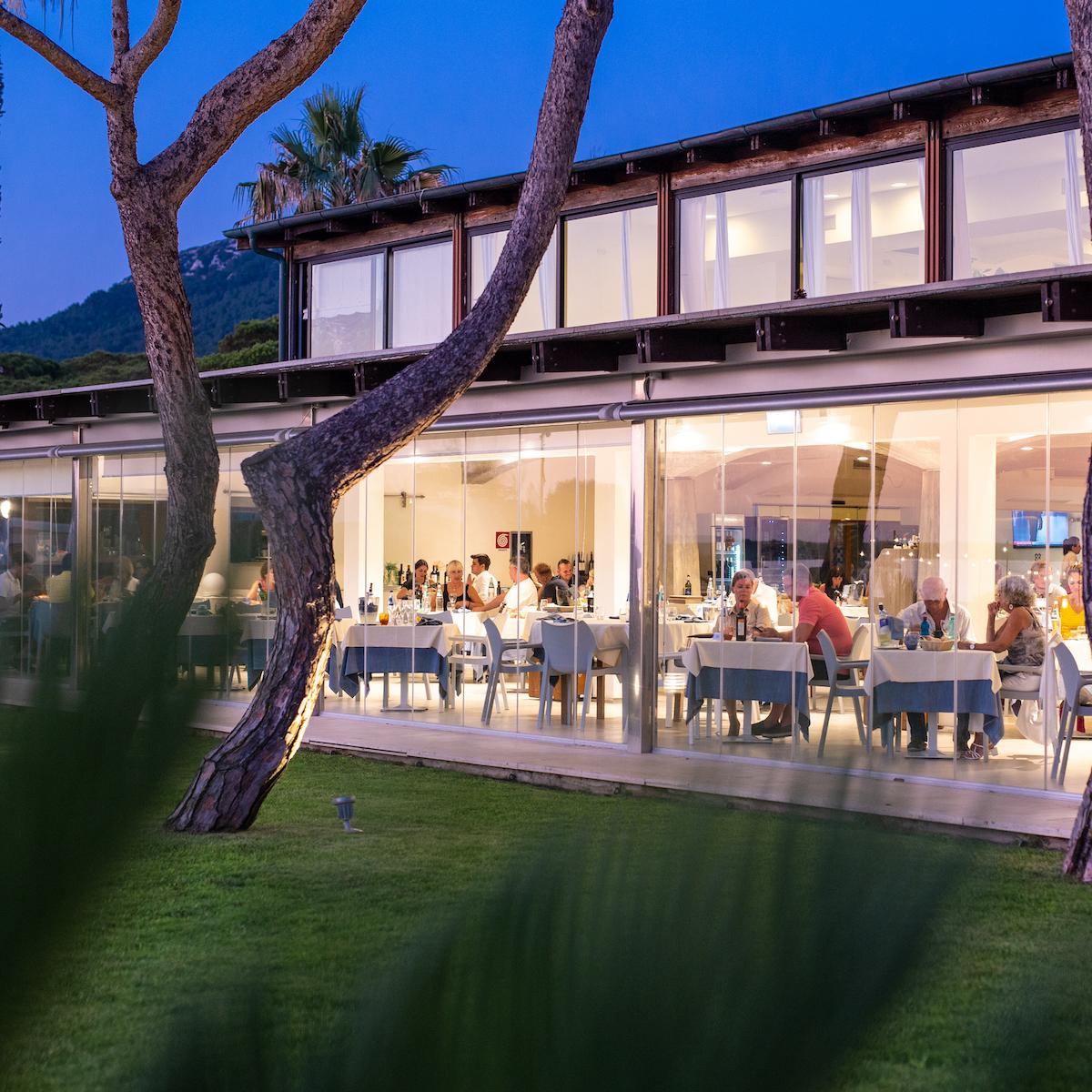 Il Ristorante Hotel Corte Rosada Alghero