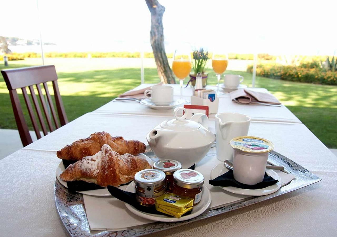 Breakfast Hotel Corte Rosada